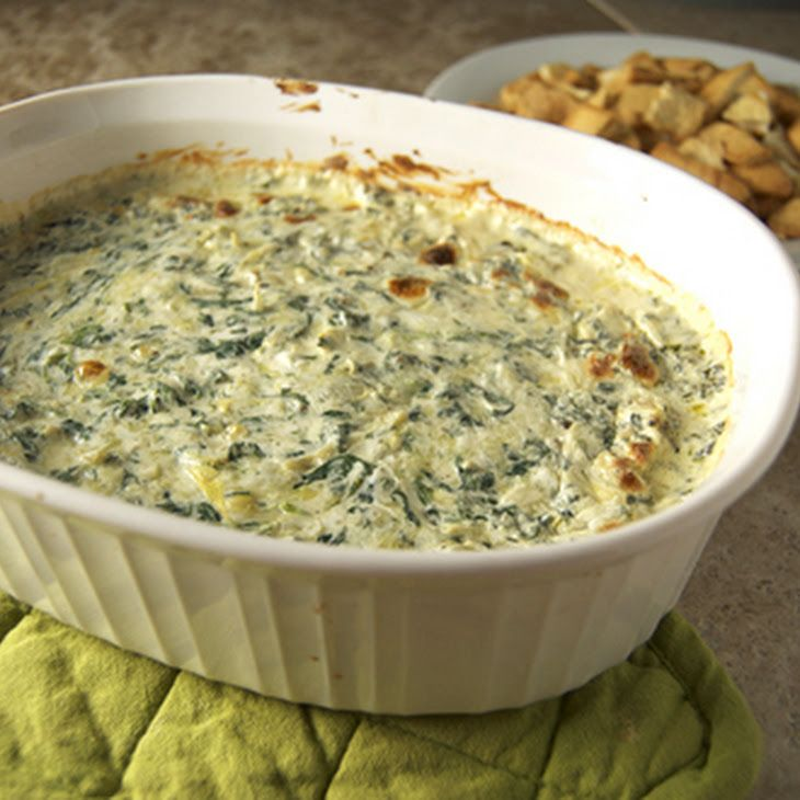 baked spinach artichoke dip. Oh yes. | Favorite Recipes | Pinterest