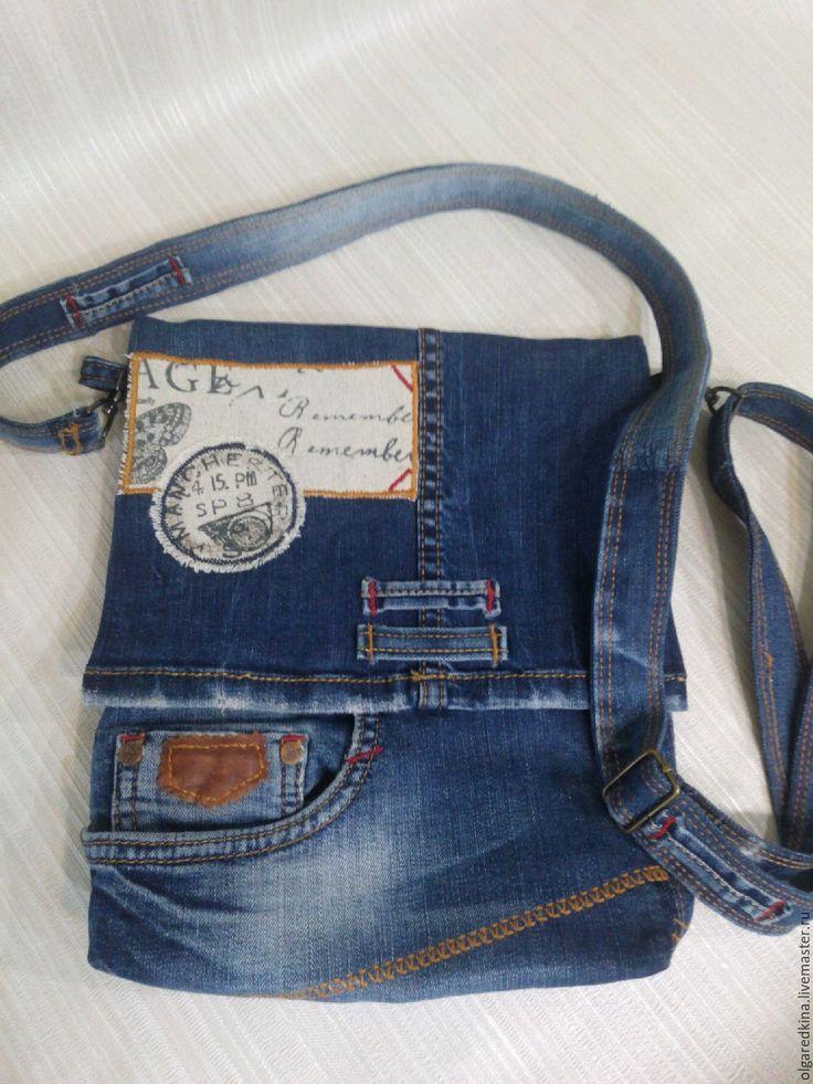 Купить или заказать джинсовая сумка- планшет в интернет-магазине на Ярмарке Мастеров. Сумка планшет сшитая из джинсов , очень удобная, красивая , оригинальная . Подклад из льна, внутри два кармана , с обратной стороны два кармана, один из них застегивается на молнию. Застёжка сумки - магнит.