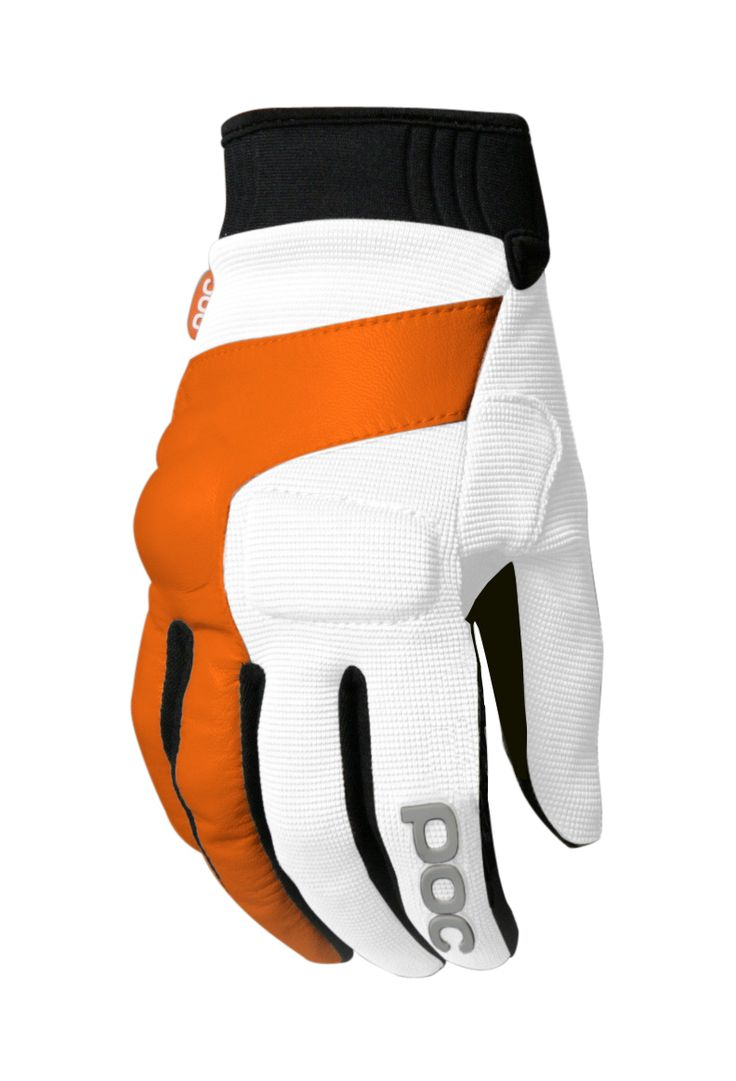 Diavolo leather motorcycle gloves - Armor Poc Index Flow Glove