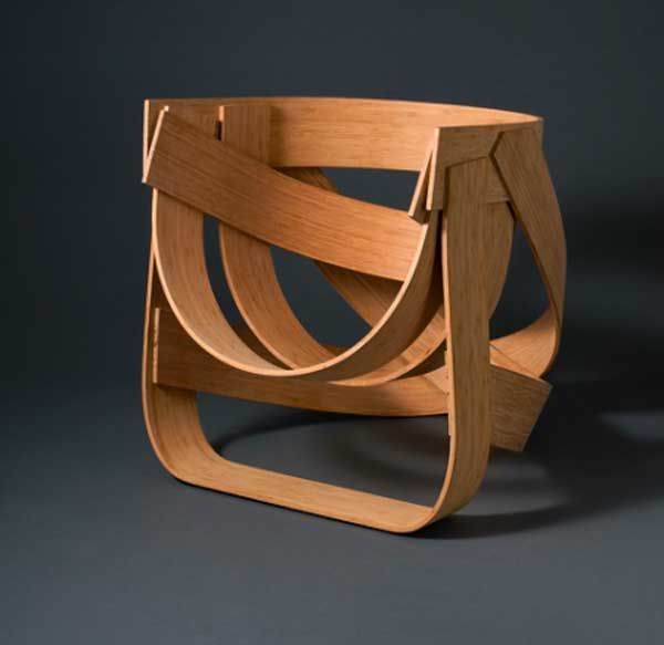 The Bamboestoel (Dutch for Bamboo Chair) is a great chair design that captures the potential of a fascinating and versatile material. By using one of the fastest-growing plants on Earth to create a standstill of its texture and properties to create a nest-like design, the artists working on the project – Tejo Remy and Rene Veenhuizen