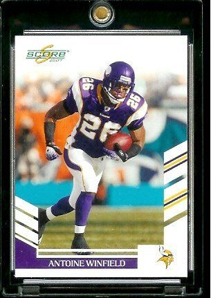 Vikings Antoine Winfield Card