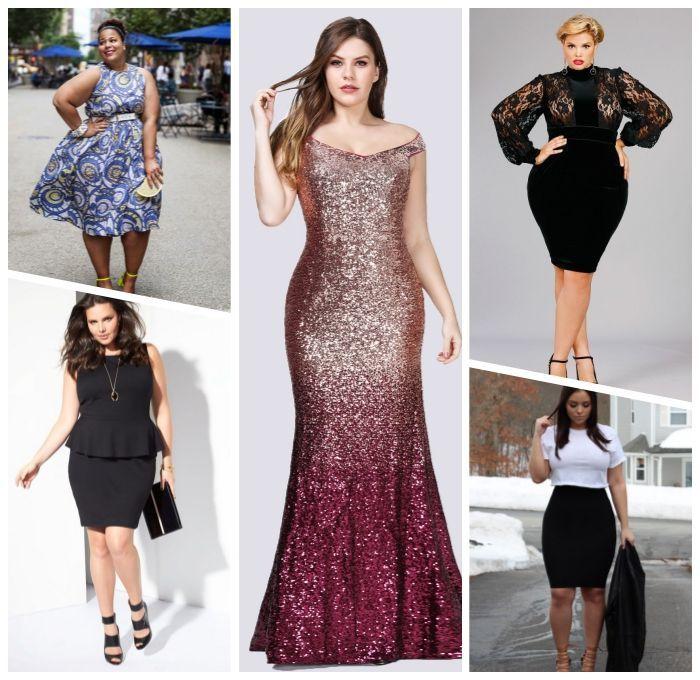 ▷ 1001 + Ideen für trendige Kleider für mollig…