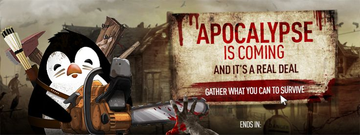 The Apocalypse Is Coming! Gather what you can to survive! http://www.fast2play.com/7en/1i8 Kinguin is your only Haven! Get new discounted price for games like: - Left 4 Dead 2 - Dead Island Reptide  - Fear 3 - 7 Days To Die - Dead Island 2 - Dead Rising 3 - The Evil Within  - Evolve - Dying Light  - Zombie Army  - H1Z1 - Resident Evil