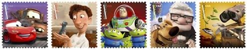 First Day of Issue: August 19, 2011 | Anaheim, CA 92803 This pane of 20 stamps includes five different designs featuring Pixar characters:...