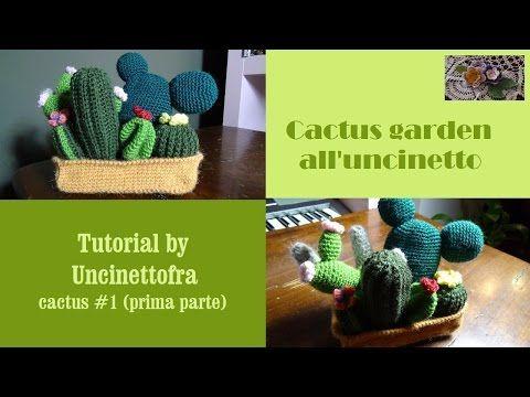 Tutorial: Cactus rotondo amigurumi - YouTube