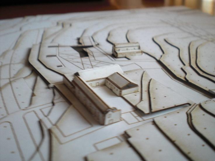 Escuela Técnica Superior de Arquitectura. Maquetas