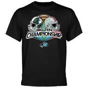 Michigan State Spartans vs. Ohio State Buckeyes 2013 Big Ten Football Championship Game Youth Dueling T-Shirt - Black