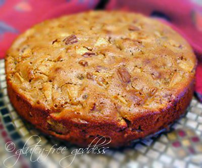 Sour Cream Apple Cake #glutenfree