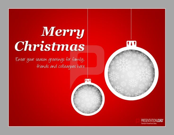 38 best FREE CHRISTMAS \/\/ POWERPOINT TEMPLATES images on Pinterest - christmas powerpoint template