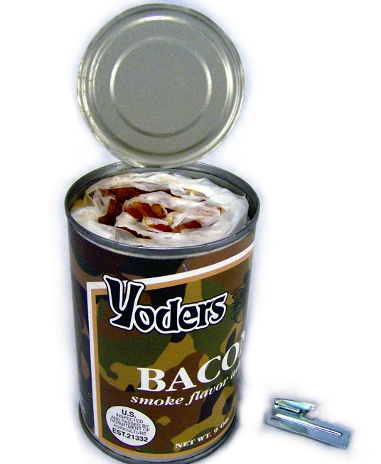 Yoder's Canned Bacon: Yoder S, Bacon Canned, Canned Bacon How, Zombie, Canned Bacon Best, Yoders Canned, Food Storage, Emergency Preparedness, Canned Bacon Amish