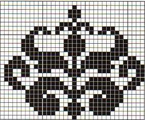 CleoStone - handicraft: Wzory żakardowe