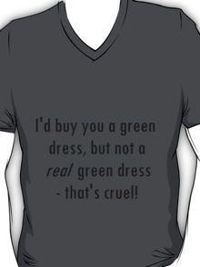 Barenaked Ladies - Million Dollars - Green Dress lyric! T-Shirt