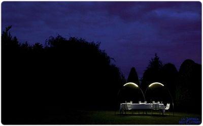 Halley lampada da terra ad arco di design con LED / outdoor led lamp