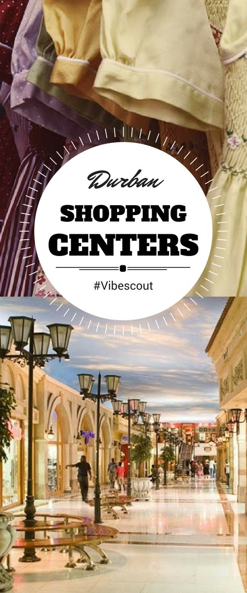 Time for Shopping! Come discover the top 4 shopping center of Cape Town.