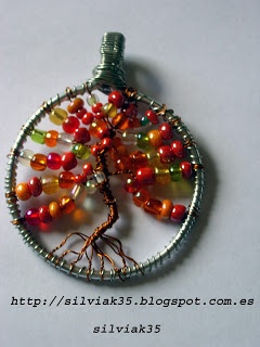 COLGANTE  ÁRBOL DE LA VIDA: Wire Jewelry, Crafts Ideas, Colgante Árbol, Inspiration Ideas, Bijou Árbol, Jewelry Wire, Colgant Árbol, Black Wire, Life Jewelry