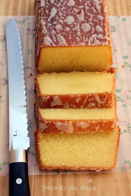 PECADO DA GULA: Bolo Fim-de-Semana (bolo de limão)