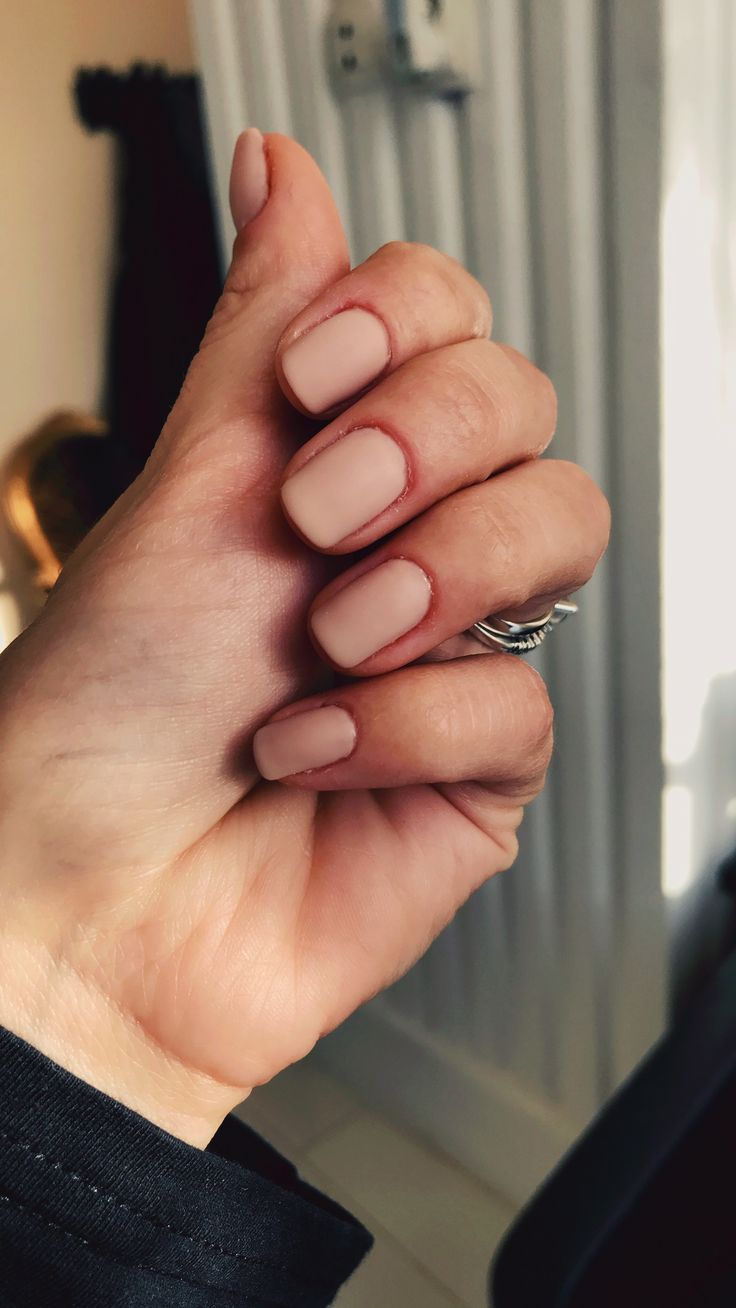 Nude nails❤️