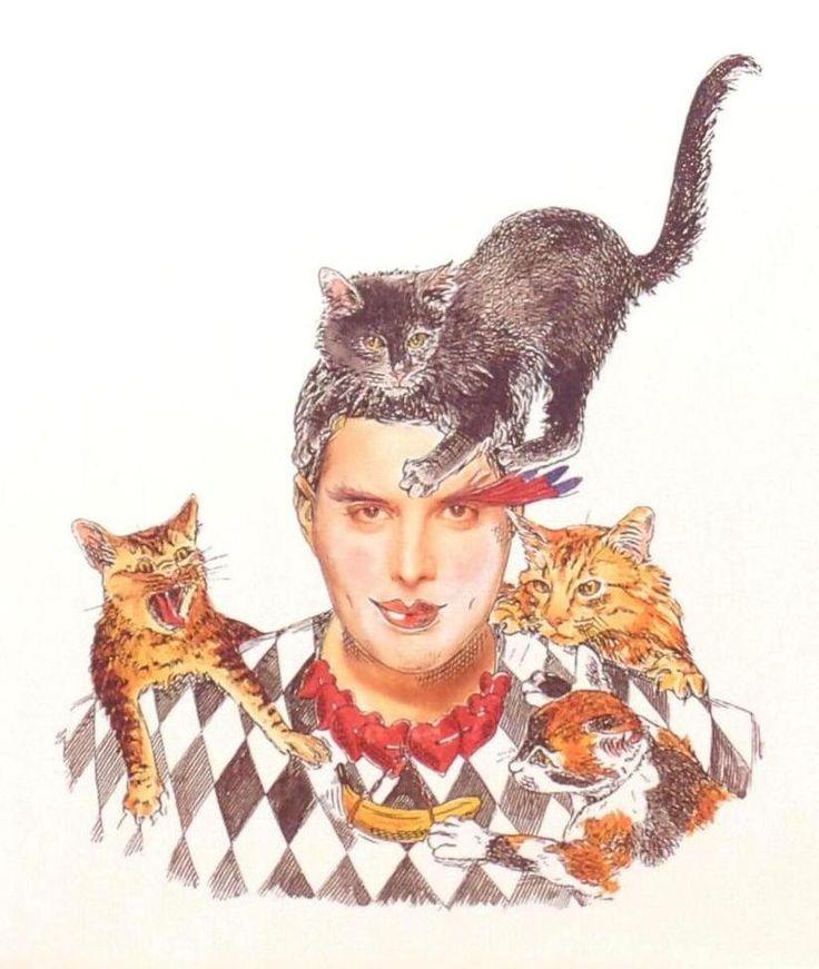 Freddie Mercury 'Innuendo' Artwork