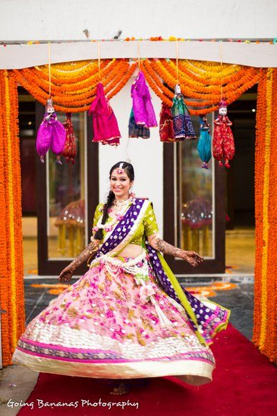 Mehndi ideas | Mehndi outfits & decor | Wed Me Good