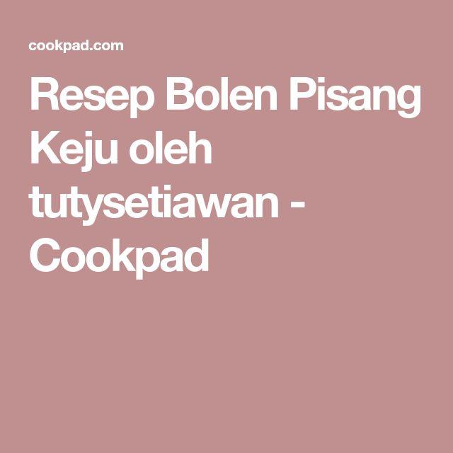 Resep Bolen Pisang Keju oleh tutysetiawan - Cookpad