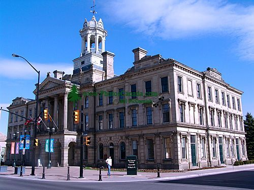 Victoria Hall, Downtown Cobourg, Ontario