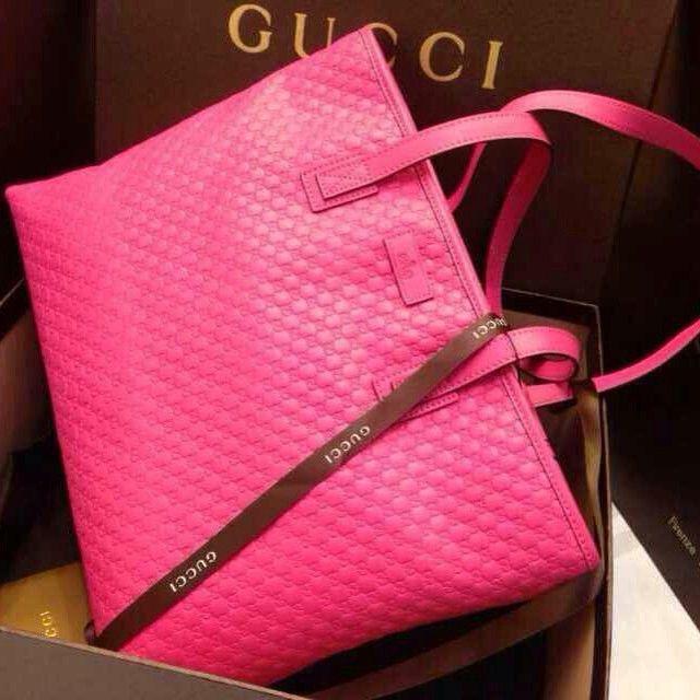 Pink Gucci Bag | Chic & Chambray
