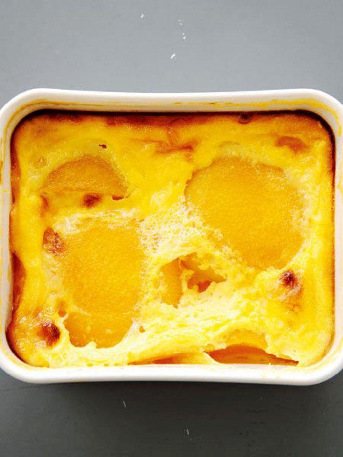 黄桃ホットプリン