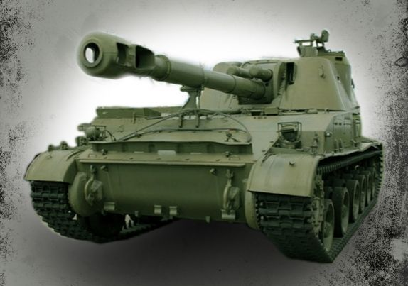 Soviet 2S3 Akatsiya (SO-152) Self-Propelled Artillery Free Paper Model Download - http://www.papercraftsquare.com/soviet-2s3-akatsiya-so-152-self-propelled-artillery-free-paper-model-download.html#150, #2S3, #2S3Akatsiya, #Akatsiya, #Artillery, #SO152, #Tank