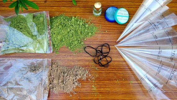 DIY Henna Kit - Mehndi/ Henna/ Temporary Tattoo, Henna Oil, Henna Cone, Natural, herbal, Skin Friendly for 20- 25 designs- Boho Fashion