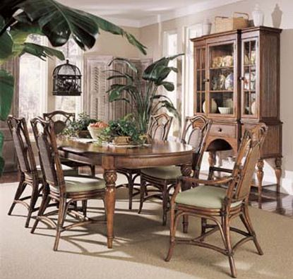 Braxton culler palm river dining room furniture set for Bedroom furniture in zanesville ohio