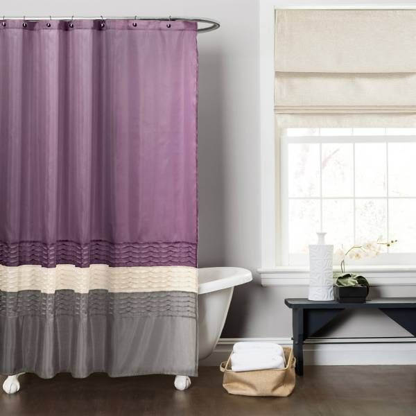 This Dark Elegant Shower Curtain Turns An Ordinary Bathroom Into A Really Special Place Fabricated With Faux Silk The Surface Comes Alive Pieced