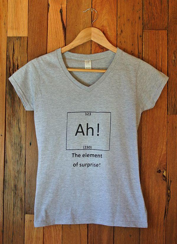 Ladies T-Shirt Ah!