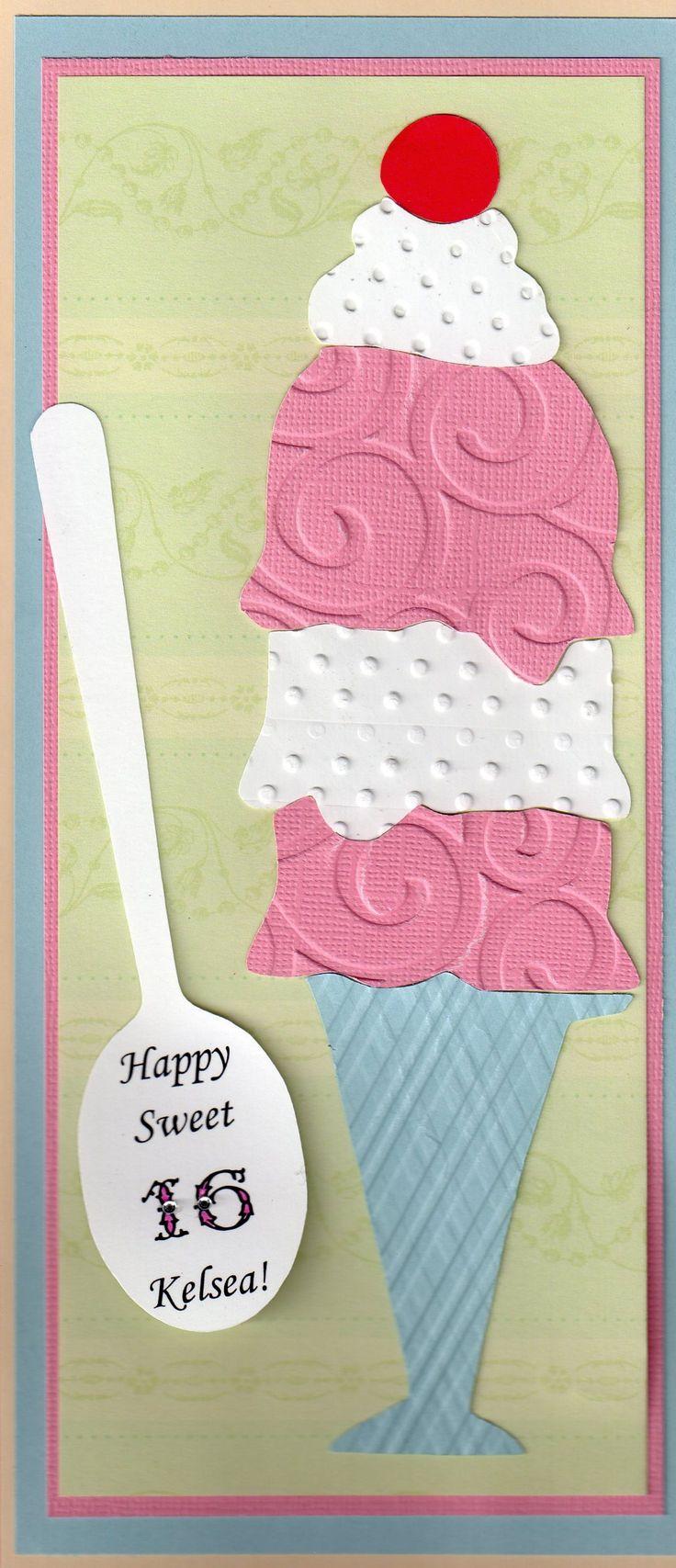Best 53 Girls Birthday Cards Images On Pinterest Birthdays Bday