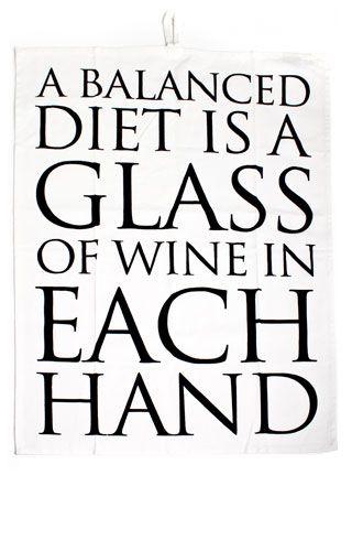 Do you follow a well-balanced diet? ;)