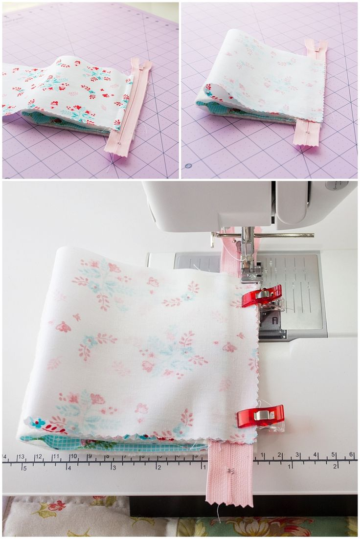 """Here's my sewing tutorial for this cute little pyramid pouch! The finished size measures 3½"""". Basic Material Requirements: Scissors, rotary cutter, rulers, sewing thread, pins or clips, sewing machine 7-inch Zipper (one) Fabrics: 4"""" x 8"""" rectangle   Outer Fabric 4"""" x 8"""" rectangle   Lining Fabric 4"""" x 8"""" rectangle   …"""