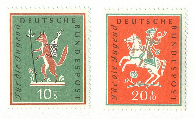 Germany Stamps, 1958
