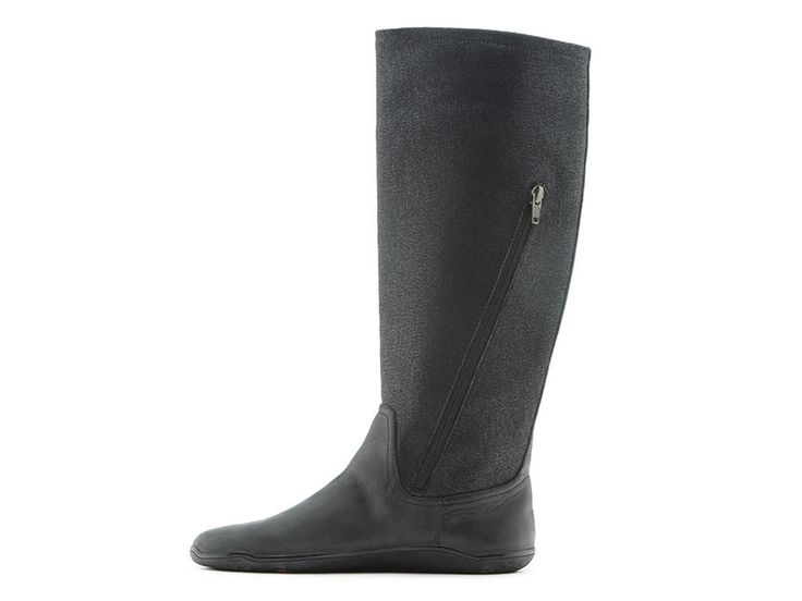 Based on last year's Vienna, the Ryder is our new and improved knee high barefoot boot. We've taken all the good things from our previous boot and made some subtle improvements to ensure your walking around in cozy barefoot luxury. The new zip makes this boot easier to put on and better fitting around the lower leg - so it'll look and feel great.  Winter casual has never felt so good, the tall and thin Ryder may be new...