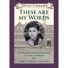 Violet Pesheens struggles to adjust to her new life at residential school and fears forgetting who she was before she came there. Drawn from the author's personal experiences at residential school.
