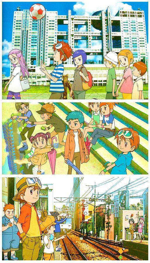 Digimon Adventure Tamers Frontier  Art
