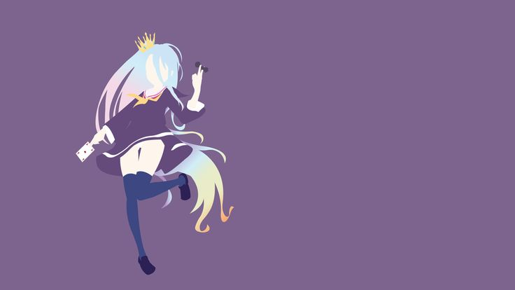 Shiro (No Game No Life) Minimalistic by Ancors on DeviantArt