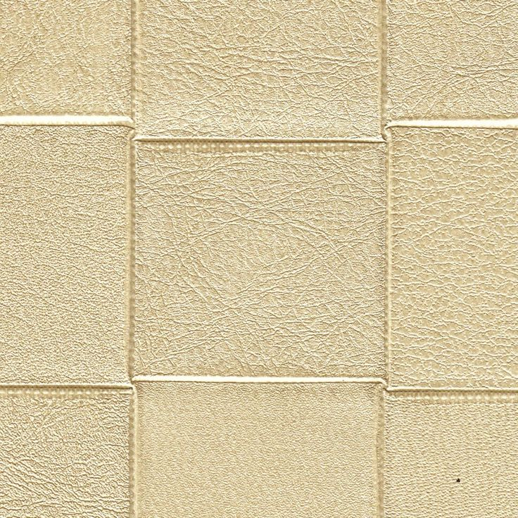 Soft Gold LIMITED STOCK/Woven Leather a Vinyl 4622