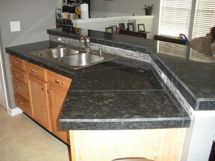 25 best images about tile kitchen counter tops on for 3 4 inch granite countertops