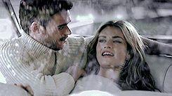 Hehe Richard Madden and Lily James at a photo shoot ♡