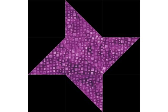 Try this easy Friendship Star quilt block pattern to sew a quilt that's packed with twinkling stars. Patchwork doesn't get much simpler than this.