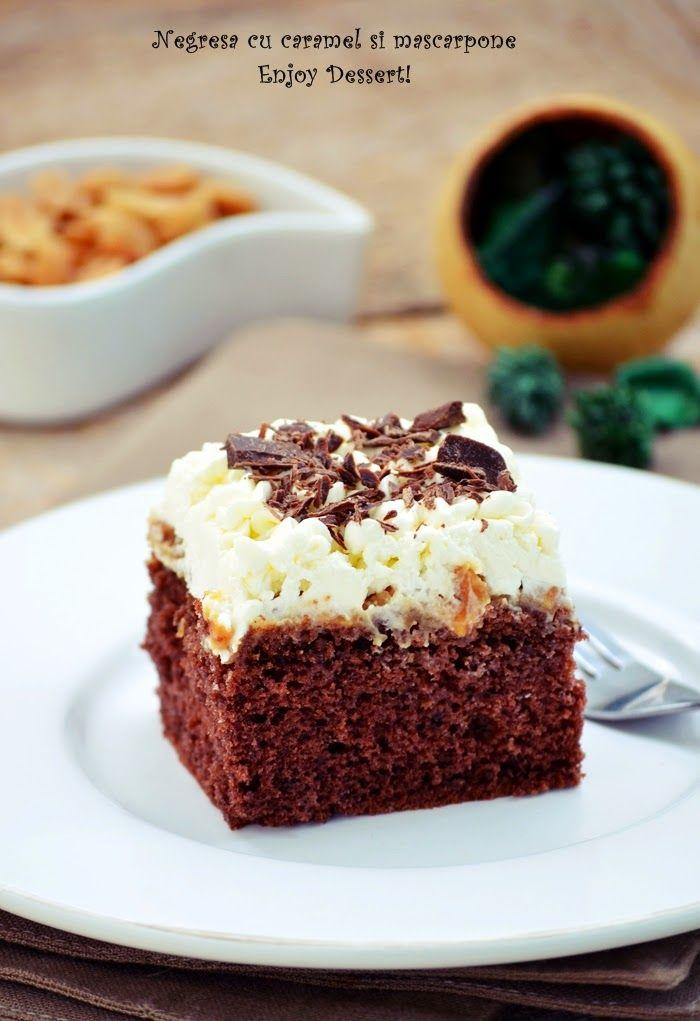 Caramel & Mascarpone Brownie