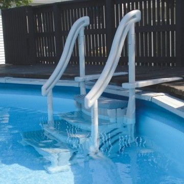 Confer Curve Above Ground Pool Steps For Sale | Dohenyu0027s Pool Supplies Fast