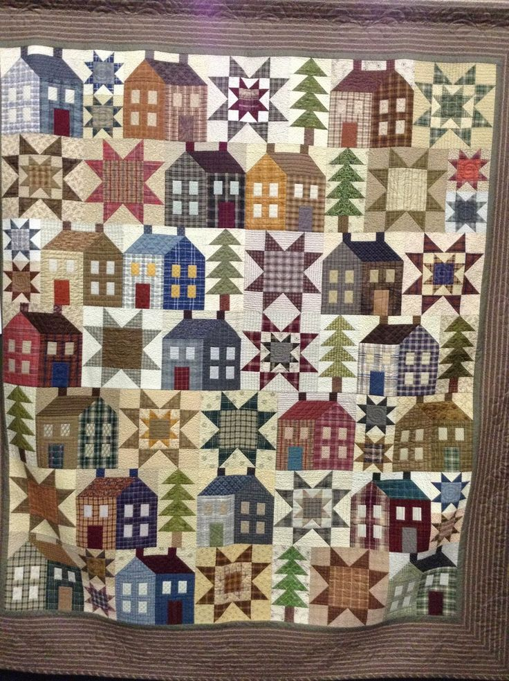 1032 best HOUSE QUILTS 2 images on Pinterest | Curtains, Happy and ... : house quilt patterns - Adamdwight.com