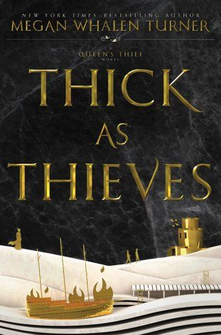 Thick as Thieves (The Queen's Thief, #5) introducing my friends....THE FIFTH BOOK!!!!!!!!! of the Queen's thief series. Go to goodreads or sounis.livejournal to find out more. IT'S GONNA BE ABOUT THE SLAVE KAMET! Second half of The King of Attolia. Release date, May 16th 2017! BOOM!