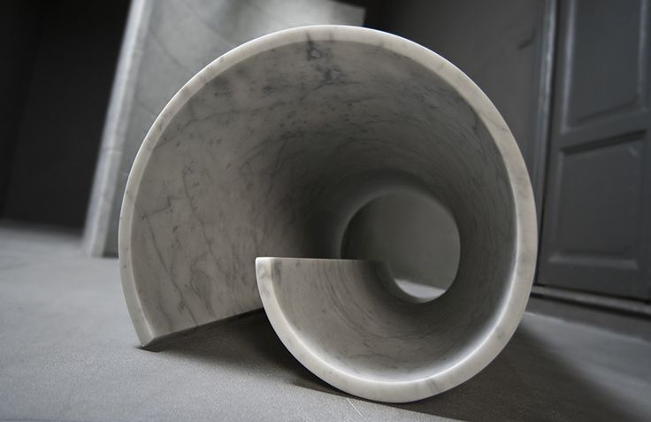 "Girella, one of our special edition pieces designed by Ron Gilad, was awarded ""Best Domestic Design 2013"" by Wallpaper*. The curved form seemingly defies logic, begging the question ""But how do you bend stone?"". It's beautiful simply as an objet d'arte or can also be used as a bench seat."