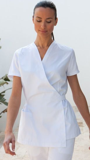 Best 10 spa uniform ideas on pinterest salon wear for Spa vest uniform